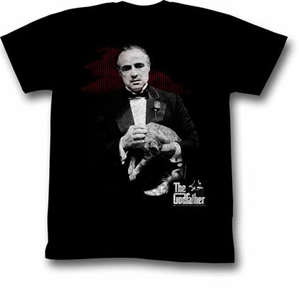 Godfather Contemplation Black Tee Shirt