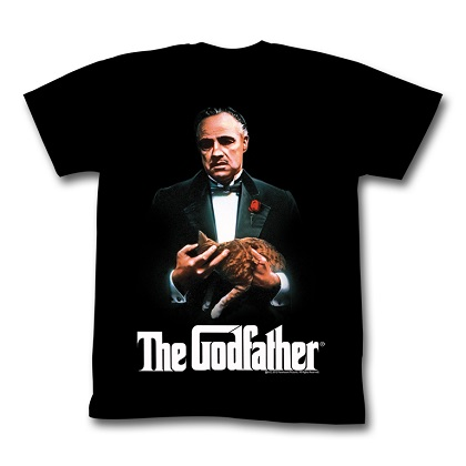 The Godfather A Man and His Cat Tshirt