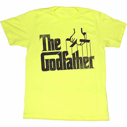 Godfather Logo Yellow TShirt