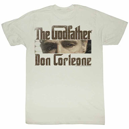 Godfather Cutting Eyes Off White TShirt