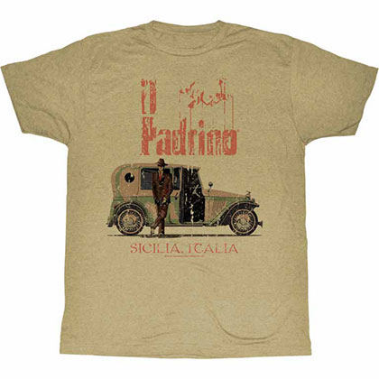 Godfather Il Padrino Beige TShirt
