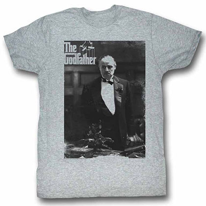 Godfather The Don Again Gray TShirt