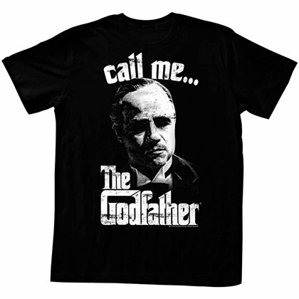 Godfather Pixelis Black T-Shirt