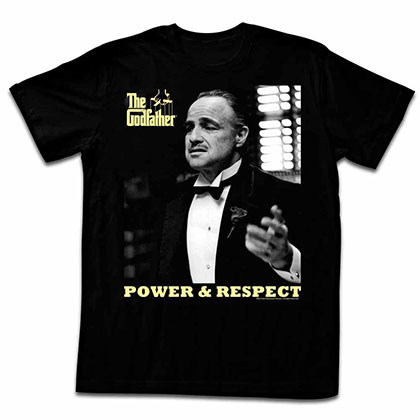 Godfather Powspect Black Tee Shirt