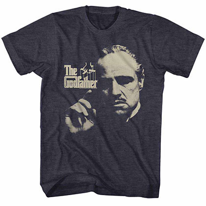 Godfather Finger Waggle Blue TShirt