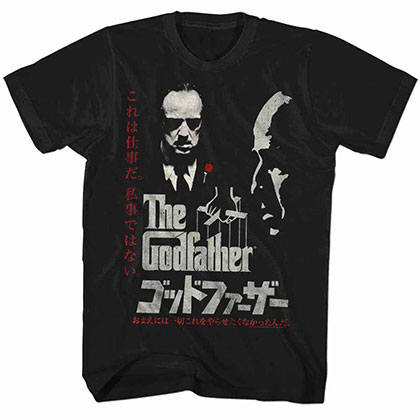 Godfather Godfather Black TShirt