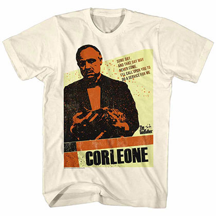 Godfather Corleone Off White TShirt