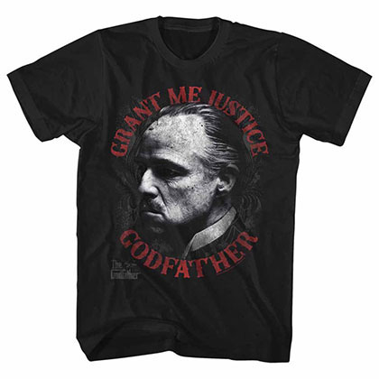 Godfather Justice Black TShirt
