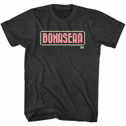 Godfather Bonasera Black TShirt