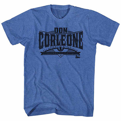 Godfather Don Corleone Blue TShirt
