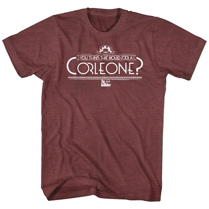 Godfather Fool A Corleon Tshirt