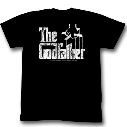 The Godfather Distressed Logo Tshirt