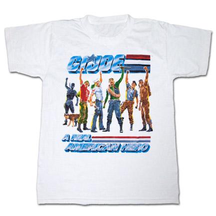 GI Joe American Hero White T Shirt
