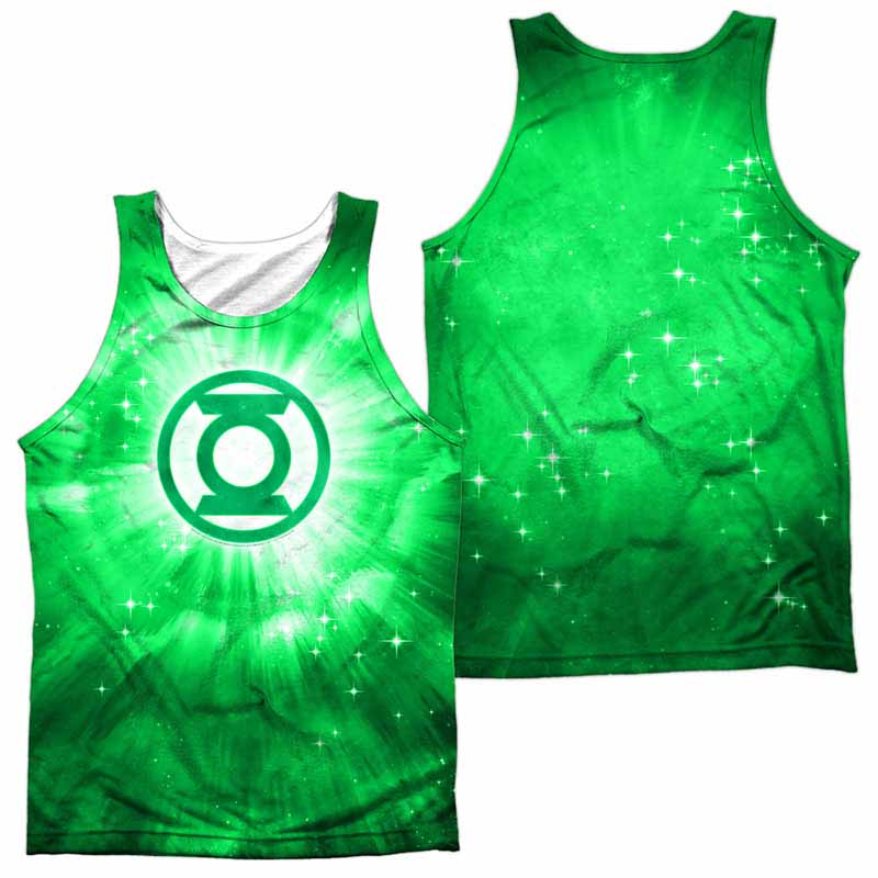 Green Lantern Green Energy Sublimation Tank Top