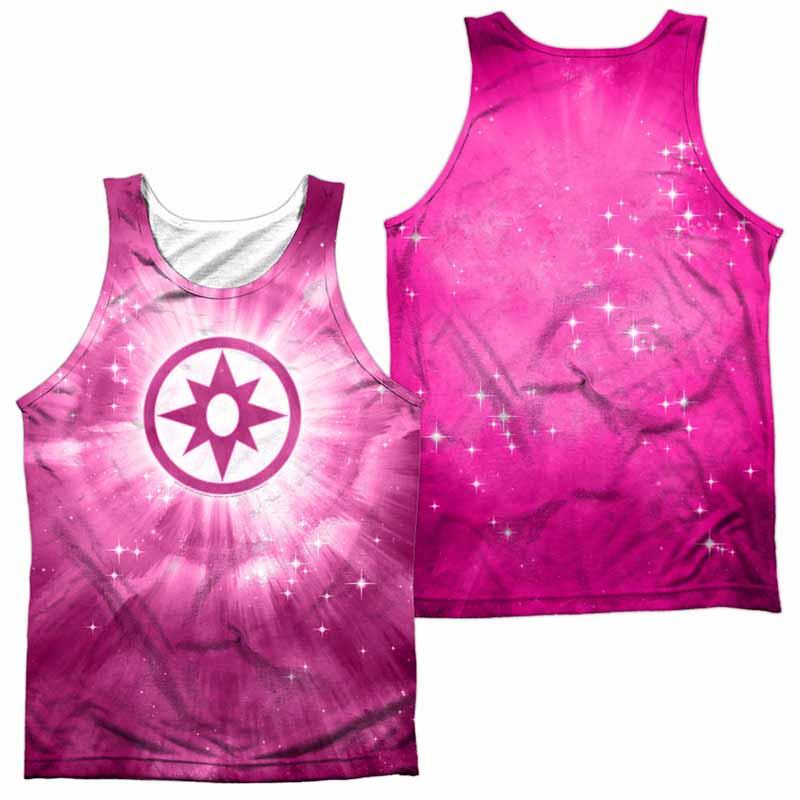 Green Lantern Sapphire Energy Sublimation Tank Top