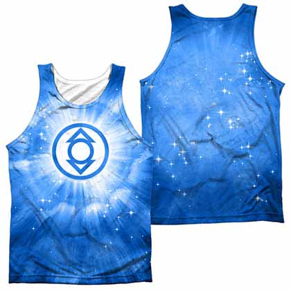 Green Lantern Indigo Energy Sublimation Tank Top