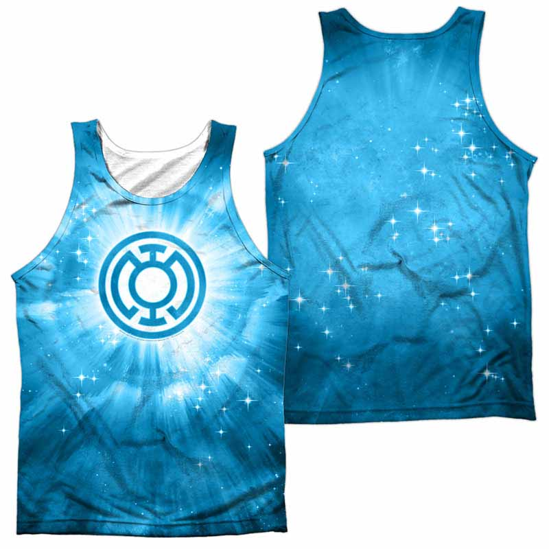 Green Lantern Blue Energy Sublimation Tank Top