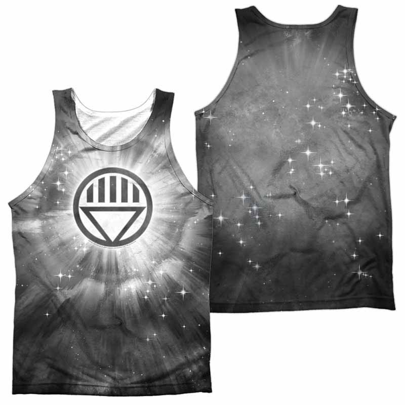 Green Lantern Black Energy Sublimation Tank Top