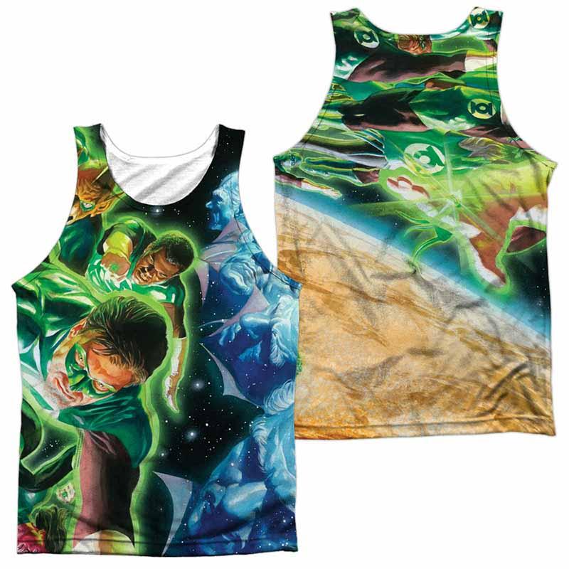 Green Lantern Guardians Sublimation Tank Top