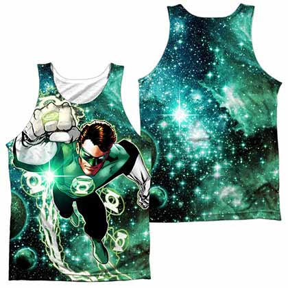 Green Lantern Galactic Hal Sublimation Tank Top