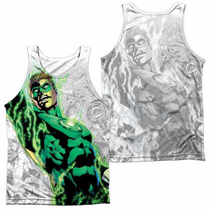 Green Lantern Light Em Up Sublimation Tank Top