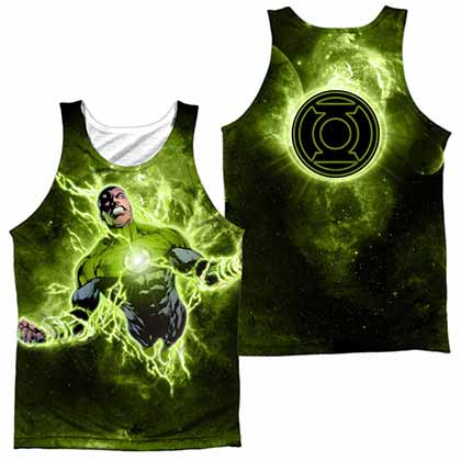 Green Lantern Inner Strength Sublimation Tank Top