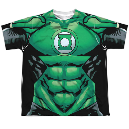 Green Lantern Costume Youth Tee