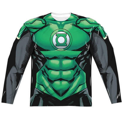 Green Lantern Long Sleeve Costume Tee