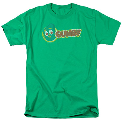Gumby Logo Green T-Shirt