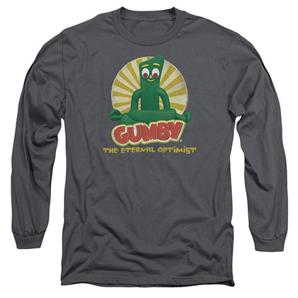 Gumby Optimist Gray Long Sleeve T-Shirt