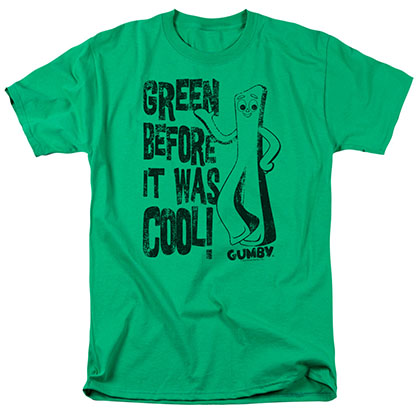 Gumby Cool Green Green T-Shirt