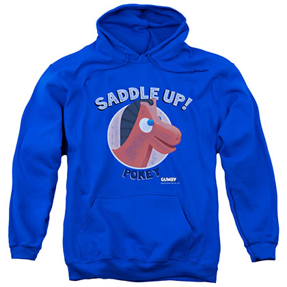 Gumby Saddle Up Blue Pullover Hoodie