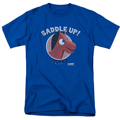 Gumby Saddle Up Blue T-Shirt