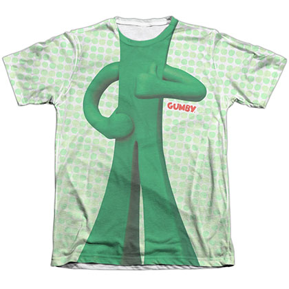 Gumby Gumb Me Sub White Sublimation T-Shirt