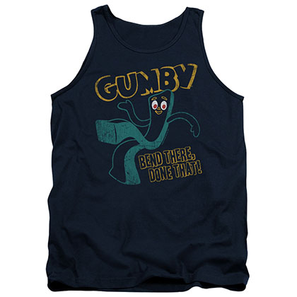 Gumby Bend There Blue Tank Top