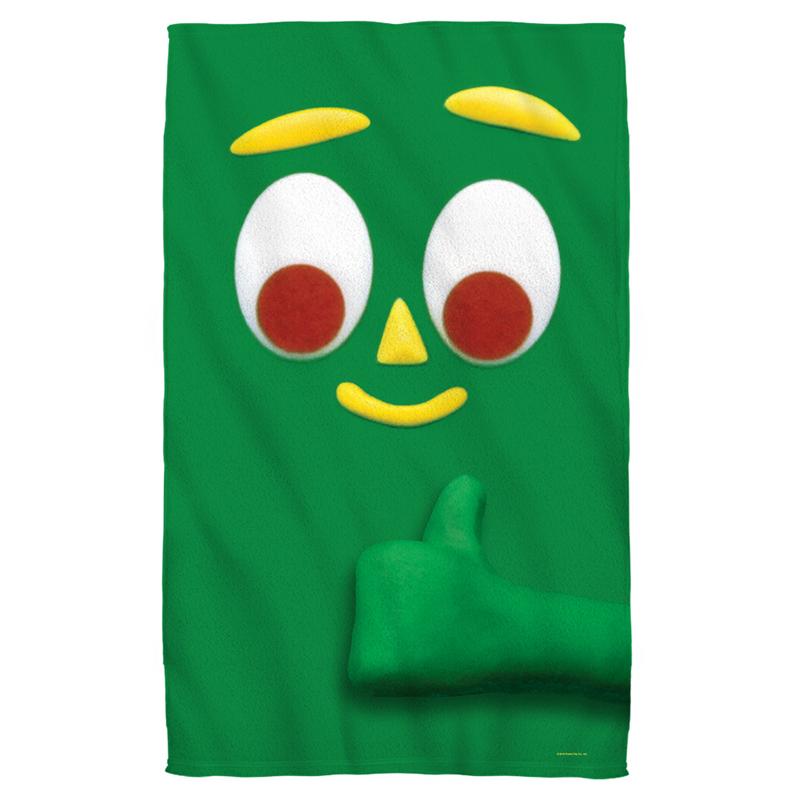 Gumby Beach Towel