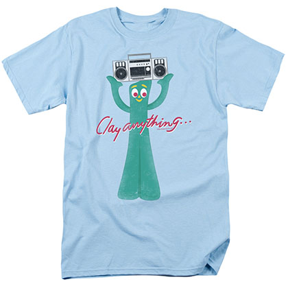 Gumby Clay Anything Blue T-Shirt