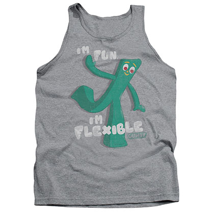 Gumby Flex Gray Tank Top