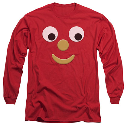 Gumby Blockhead J Red Long Sleeve T-Shirt