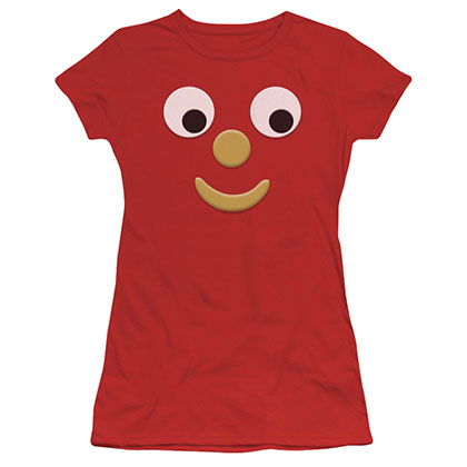 Gumby Blockhead J Red Juniors T-Shirt