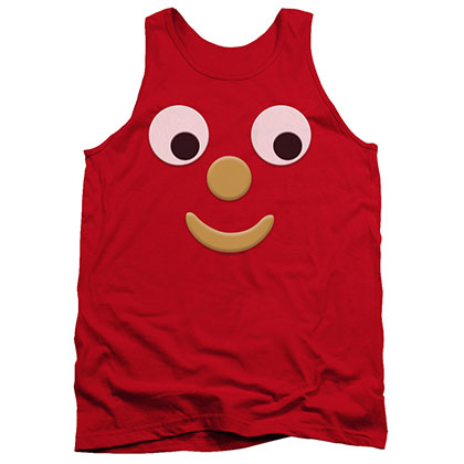 Gumby Blockhead J Red Tank Top