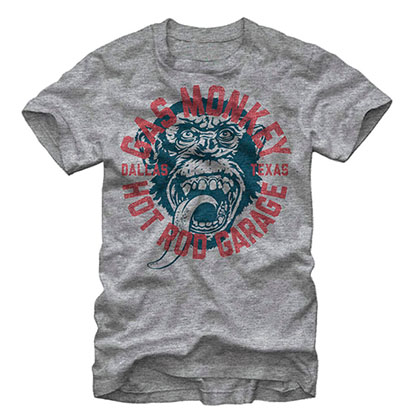 Gas Monkey Garage Business Gray T-Shirt