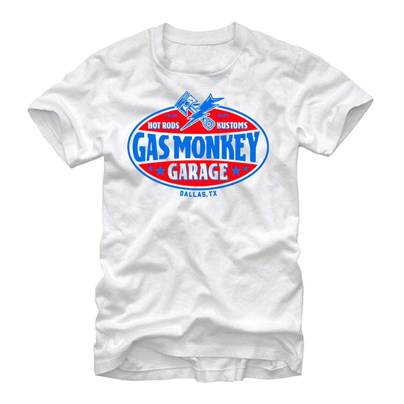 Gas Monkey Garage Gasser White T-Shirt