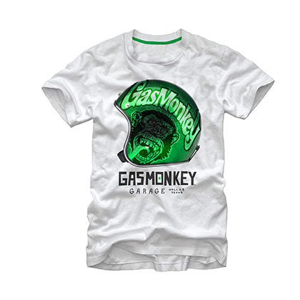 Gas Monkey Garage Starred White T-Shirt