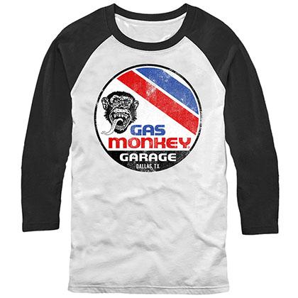 Gas Monkey Garage Surf and Turf Black Longsleeve T-Shirt
