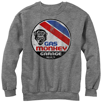 Gas Monkey Garage Le Mans Gray Sweatshirt