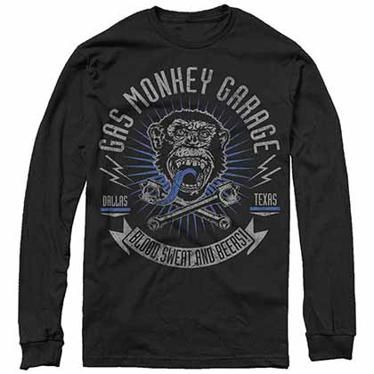 Gas Monkey Garage XReset Garage Black T-Shirt