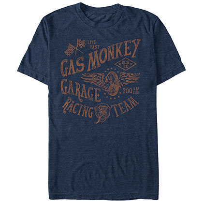 Gas Monkey Garage Racing Team Blue T-Shirt