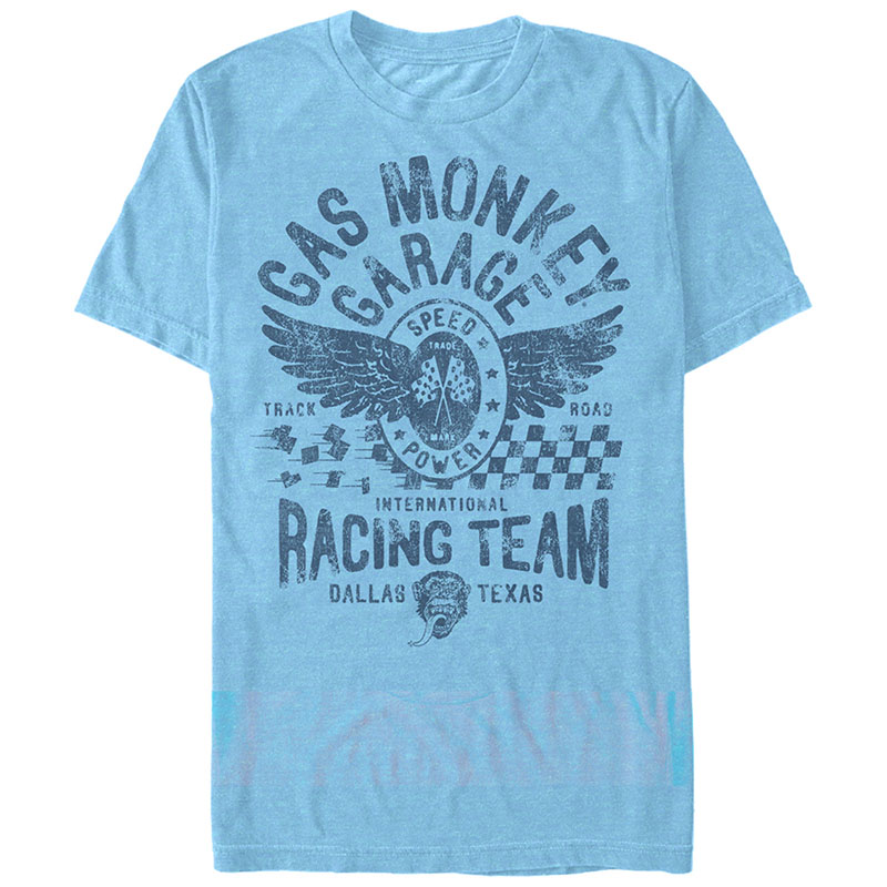 Gas Monkey Garage International Racing Blue T-Shirt