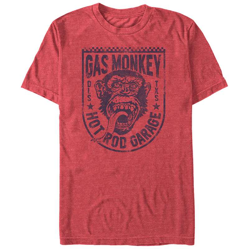Gas Monkey Garage Glory Bound Red T-Shirt